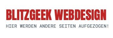 BLITZGEEK Webdesign
